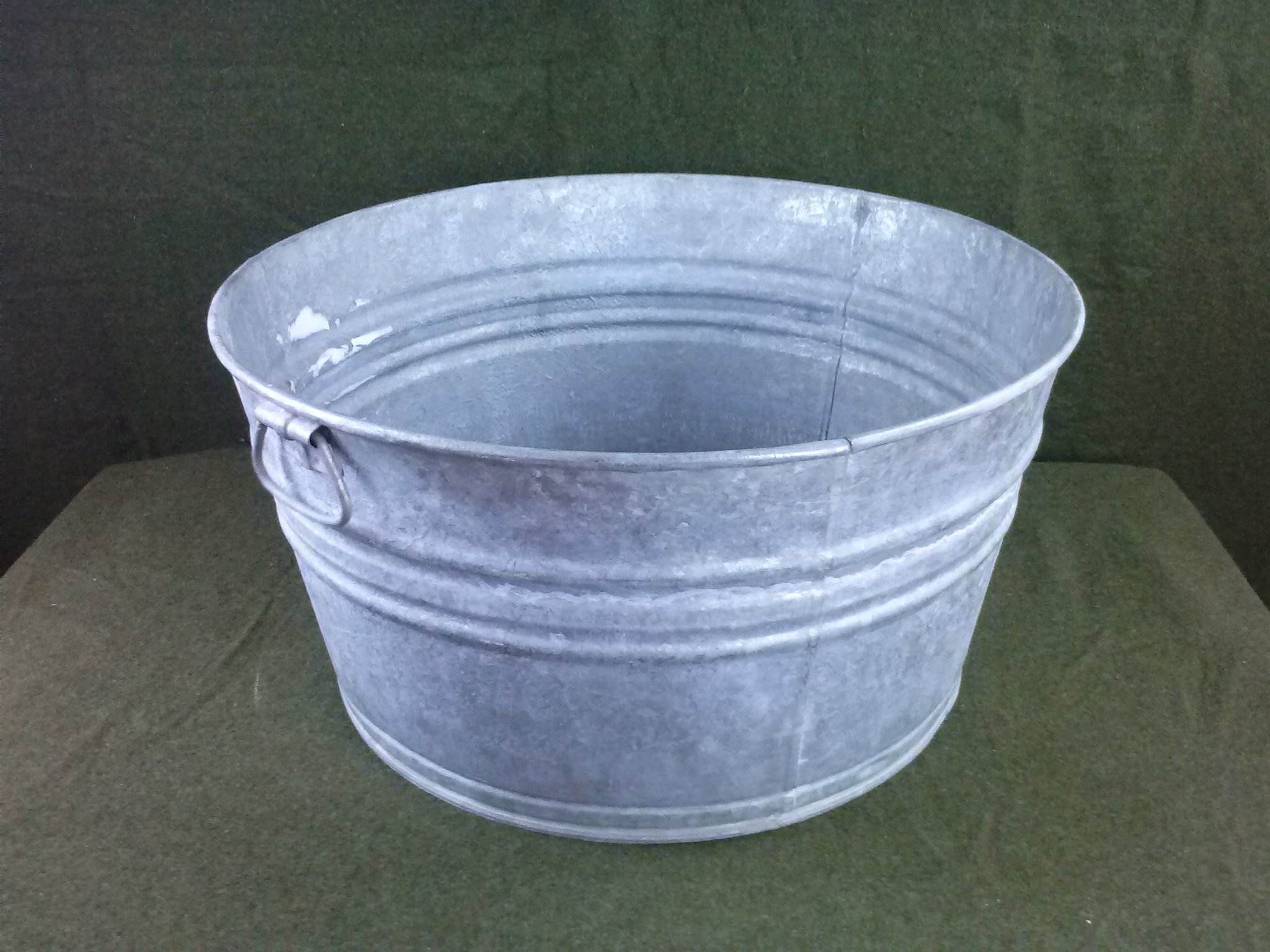 vintage galvanized no 2 wash tub ebay
