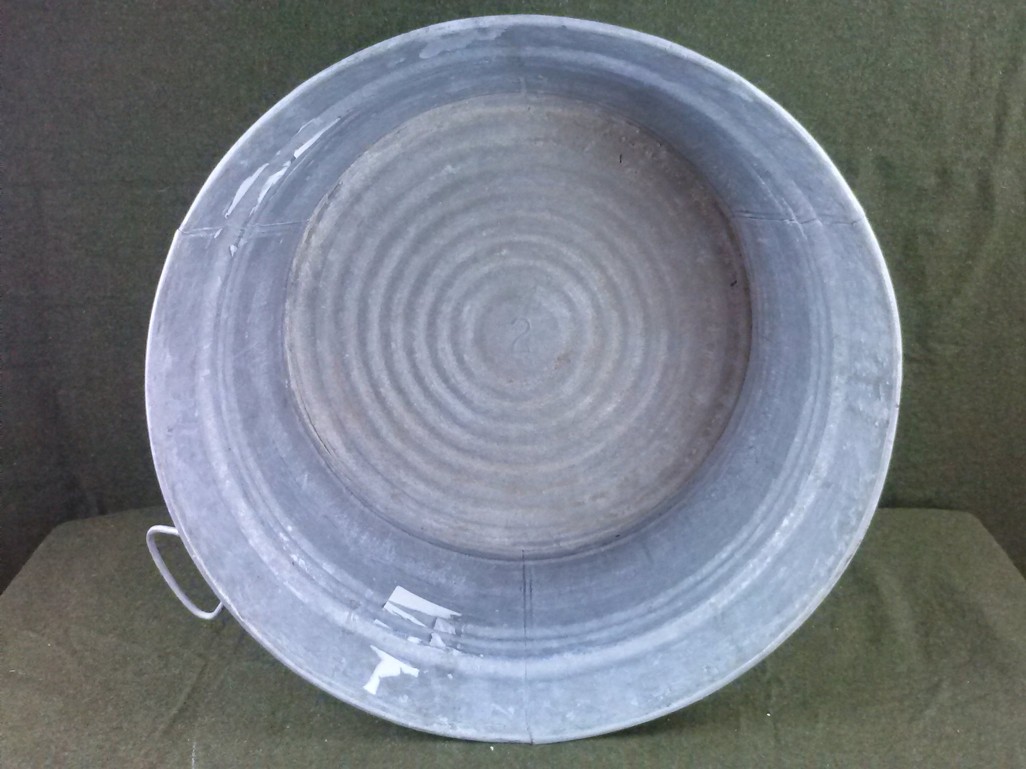 Vintage Galvanized No. 2 Wash Tub eBay