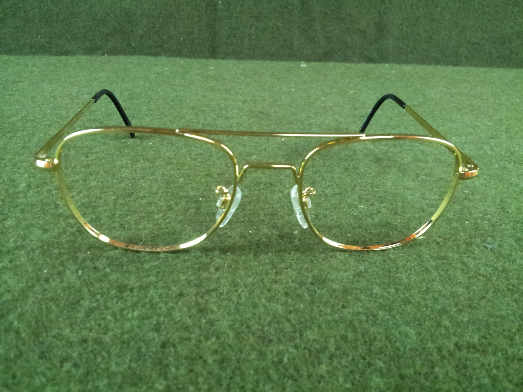 Glasses Frames Locations : Military Issue Rochester Optical Gold Aviator Glasses ...